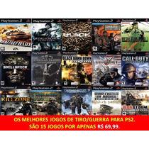 Commandos Strike Force Play 2 (kit 15 Jogos Ps2 Guerra