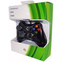 Controle Com Fio Xbox 360 E Pc Slim Joystick Video Game