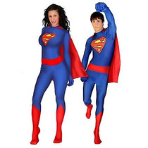 Disfraz De Super Man, Super Heroe Unisex, Envio Gratis
