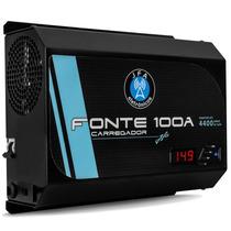 Fonte Automotiva Digital Jfa 100a Carregador Bateria Bivolt