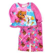 Pijama Blusa Pantalon Bubble Guppies Talla 4 Envio Gratis