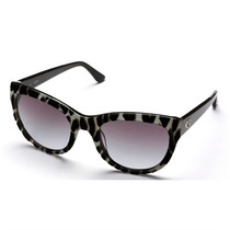 Óculos De Sol Guess Acetato Zebra Veludo Gu742905b