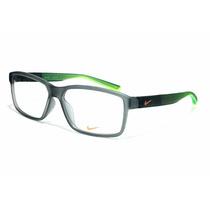Armação Óculos De Grau Nike Acetato 7092