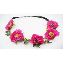 Tiara Coroa De Flores Headband Pronta Entrega