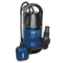 Bomba Sumergible 1/2 Hp, 350 W, Para Agua Limpia Toolcraft