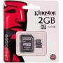 Memoria Micro Sd 2gb Kingston (somos Tienda Fisica)