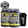 Whey Protein Ena 2k Instantanea Con Bcaa + Vaso