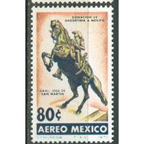 Sc C423 Año 1973 B1 Monumento Del Gral San Martin Donacion