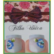 Adesivos De Unhas Filha Única C/ Perola 0,99 Artesanais