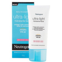 Neutrogena Ultra Light Hidratante Facial Pele Normal A Seca