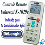 Controle Remoto Universal Ar Condicionado Split Delonghi