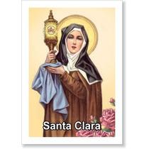 Santinho Santa Clara (milheiro Pagar Promessa) + Brinde