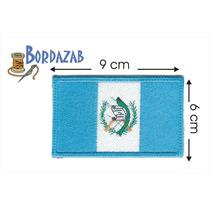 Escudo Parche Bordado Banderas De Guatemala