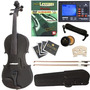 Violin Cecilio Cvn-black Ebony Fitted Solid Wood Violin