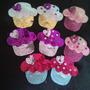 Cupcakes O Ponquesitos De Lentejuelas
