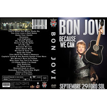 Bon Jovi Dvd Mexico Becaude We Can Tour 29 Sep 2013 Foro Sol