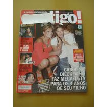 Revista Contigo Carolina Dieckmann Sandy E Junior Galisteu