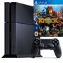 Playstation 4 Sony 500gb + 1 Juego Físco Incluido Ps4 Nuevos