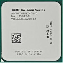 Processador Fm1 A6 3670k 2.7ghz Com Vga Amd Radeon Hd 6530d!