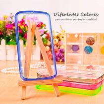 Funda Cristal Case Transparente Acrilico Colores Lg G4 H815