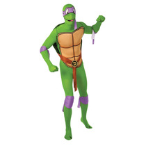 Disfraz De Tortuga Ninja - Mediano Hombre Donatello 2° Piel
