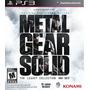Metal Gear Solid Ps3 Nuevo Original Fisico Caja Sellada