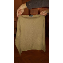Sweater Lana Melino Marron Claro Belvedere Manga Larga