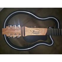 Violão Ramá Vazado Cordas Aço Luthier Silent Guitar Slg200
