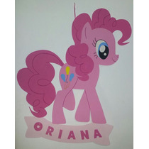 Cartel Cumpleaños - Poni   Pony - Goma Eva 50 X 48 Cm Aprox.