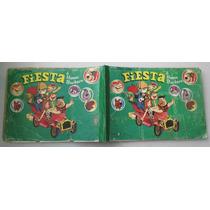 Álbum De Estampas Fiesta De Hanna Barbera -396 - Lleno 100%