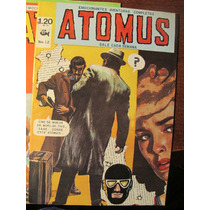 Comic De Atomus #12 Edit Piscis De Jose Antonio Perez 1970