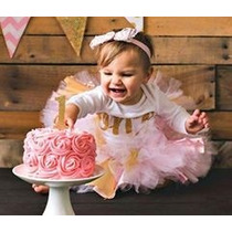 Tutú Decoración Glitter Elegante Cumpleaños Envio Gratis