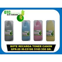 Bote Recarga Toner Canon Gpr-20 Ir-c5180 5185 Ir4080 Ir4580