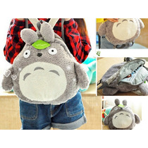 Mochila Totoro Mujer Niña Cute Kawaii Escolar Grande Adulto