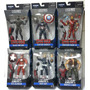 Marvel Legends Civil War Baf Giant Man Set Completo 6 Hasbro