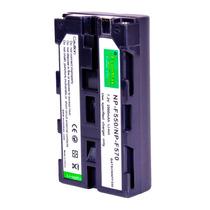 Batería Np F550/f570 Larga Duración Video Cámara Sony