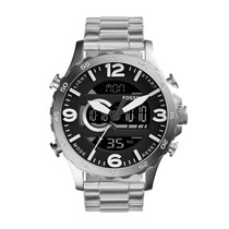 Relógio Fossil Masculino Nate - Jr1514/1pn Jr1514/1pn