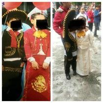 Trajes De Charro Y Falda Tricolor Para Niña Talla 4 Y 6