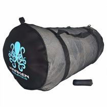 Bolsa Para Buceo Mesh Duffle Gear Bag With Shoulder Strap