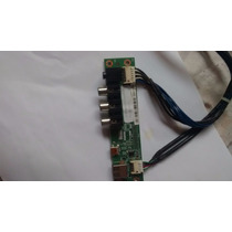 Placa Av Lateral Usb Tv 32´´ Semp Toshiba Lc3246(b)wda