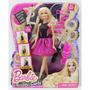 Barbie Rizos A La Moda Y Reino Peinados Magicos, Orig Mattel