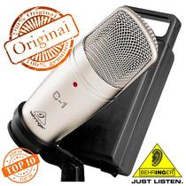 Microfone Condensador C1 De Estúdio Behringer C-1 Original