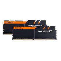 Memoria Ram Ddr4 16gb 3200mhz Trident Z Black-orange 2x8gb