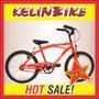 Bicicleta Playera Con Frenos Kelinbike Rodado 20 Varón