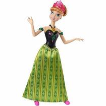 Boneca Anna Ana Musical Disney Frozen - Mattel - Original