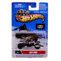 Bat-pod Moto + Boneco Batman Batpod Hotwheels Motor Cycles