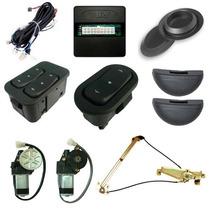 Kit Vidro Eletrico Sensorizado - Gm Monza 2p 86 Em Diante