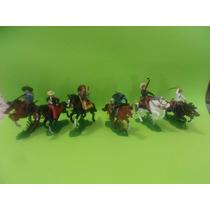 Soldados A Caballo X 6. Plástico. Varios Modelos