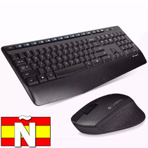 Teclado Mouse Inalambrico Wireless Mk345 Logitech Envios