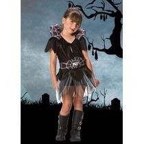 Disfraz Araña Halloween Para Nena